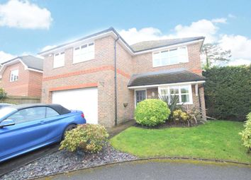 Thumbnail 5 bed detached house to rent in Dundaff Close, Camberley, Surrey