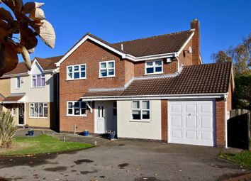 Thumbnail 4 bed detached house for sale in Armour Close, Burbage, Hinckley