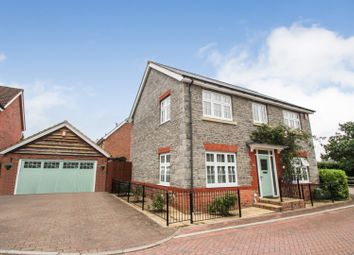 Thumbnail 4 bed detached house for sale in Long Wood Meadows, Cheswick Village, Stoke Gifford
