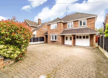 Thumbnail 4 bed detached house for sale in Hall Lane, Upminster, Essex