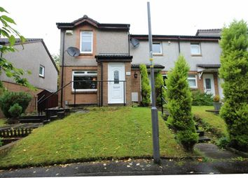 Thumbnail 2 bed end terrace house for sale in Antonine Gardens, Duntocher, Clydebank