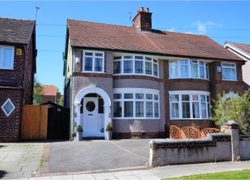 Thumbnail 3 bed semi-detached house for sale in Melville Road, Bebington