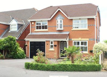 Thumbnail 4 bed detached house for sale in Windflower Drive, Leyland