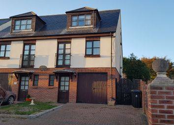Thumbnail Town house for sale in Fern Square, Chickerell, Weymouth