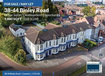 Thumbnail Office for sale in Clifford House, 38-44 Binley Road, Coventry, West Midlands