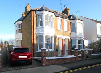 Thumbnail 4 bed semi-detached house for sale in Clare Road, Whitstable