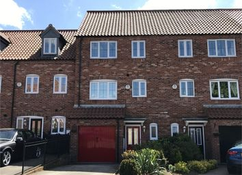 Thumbnail 4 bed town house for sale in Garbsen Court, Worksop, Nottinghamshire