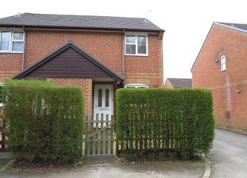Thumbnail 2 bed semi-detached house for sale in Station Road, Alderholt, Fordingbridge