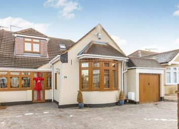 Thumbnail 4 bed bungalow for sale in Rise Park, Romford, Havering