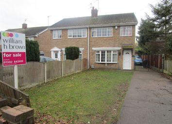 Thumbnail 3 bed semi-detached house for sale in Field Road, Stainforth, Doncaster