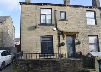 Thumbnail 2 bed end terrace house for sale in Albert Edward Street, Queensbury, Bradford