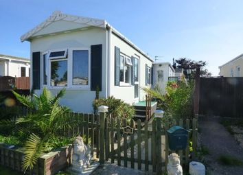 Thumbnail 2 bed mobile/park home for sale in St. Hermans Caravan Estate, Hayling Island