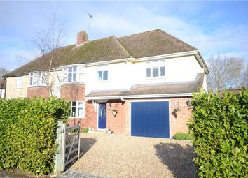Thumbnail 4 bed semi-detached house for sale in Evesham Road, Emmer Green, Reading