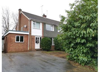 Thumbnail 3 bed semi-detached house for sale in Butler Road, Crowthorne