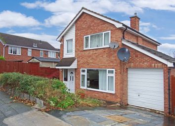 Thumbnail 3 bed detached house for sale in Althorpe Drive, Loughborough