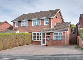 Thumbnail 3 bed semi-detached house for sale in Mercot Close, Oakenshaw South, Redditch