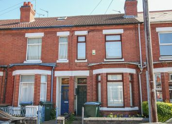Thumbnail 2 bed terraced house to rent in St. Osburgs Road, Coventry