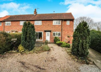 Thumbnail 3 bed semi-detached house for sale in Well Lane, Tibthorpe, Driffield