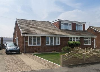 Thumbnail 2 bed semi-detached bungalow for sale in Oak Avenue, Withernsea, East Riding Of Yorkshire