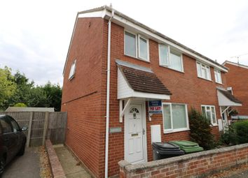 Thumbnail 3 bed semi-detached house to rent in Lord Road, Diss