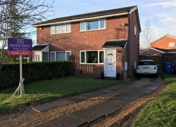 Thumbnail 2 bed semi-detached house for sale in Livingstone Close, Old Hall, Warrington