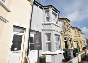 Thumbnail 2 bed terraced house for sale in Grove Road, Hastings