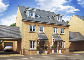 "Thumbnail 4 bedroom semi-detached house for sale in ""Rochester"" at Priorswood, Taunton"