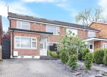 Thumbnail 4 bed semi-detached house for sale in Denewood, Barnet