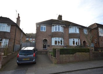 Thumbnail 3 bed semi-detached house for sale in Sancroft Road, Eastbourne