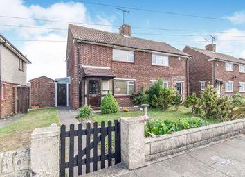 Thumbnail 2 bed semi-detached house for sale in Landseer Avenue, Northfleet, Gravesend, Kent