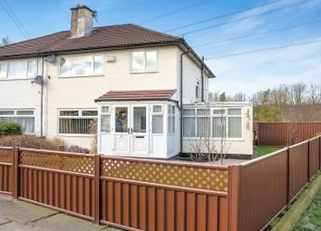 Thumbnail 4 bed semi-detached house for sale in Parrenthorn Road, Prestwich, Manchester