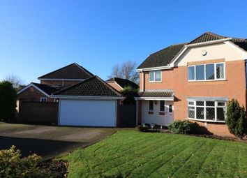 4 bed detached house for sale in Otter Way, Whetstone, Leicester, Leicestershire LE8