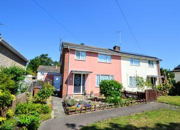 Thumbnail 3 bed semi-detached house for sale in Dash End, Kedington, Haverhill