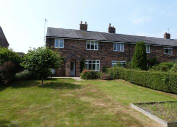 Thumbnail 3 bed end terrace house for sale in Crauford Road, Eaton, Congleton, Cheshire