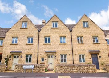 Thumbnail 3 bed terraced house for sale in Forstall Way, Cirencester, Gloucestershire