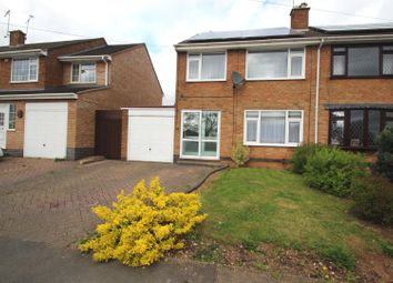 Thumbnail 3 bed semi-detached house for sale in Quorn Way, Binley, Coventry
