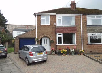 Thumbnail 3 bed semi-detached house for sale in Links Road, Marple, Stockport