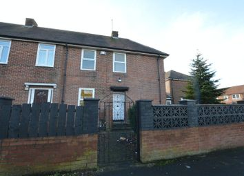 Thumbnail 2 bed end terrace house for sale in Brookside Crescent, North Fenham, Newcastle Upon Tyne