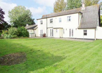 Thumbnail 4 bed detached house for sale in Tretts Loke, Fleggburgh