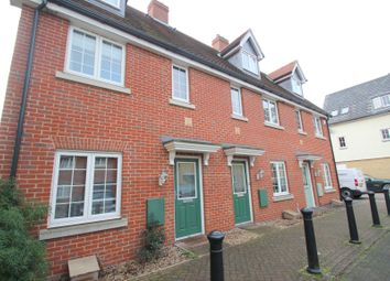 Thumbnail 3 bed terraced house to rent in Weetmans Drive, Colchester