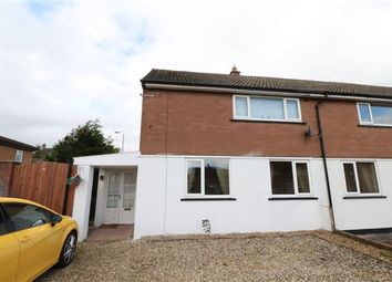 Thumbnail 2 bed semi-detached house for sale in Winscale Way, Carlisle