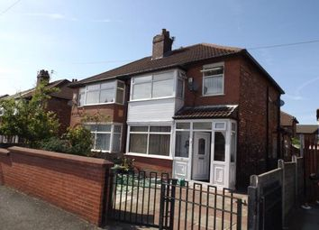 Thumbnail 4 bed semi-detached house for sale in Farrant Road, Manchester, Greater Manchester, Uk