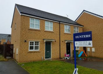 Thumbnail 2 bed semi-detached house to rent in Beaufort Close, Thornaby, Stockton-On-Tees