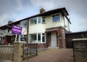 Thumbnail 3 bed semi-detached house for sale in Sunningdale Avenue, Blackpool