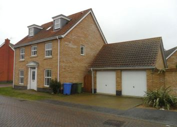 Thumbnail 5 bed detached house for sale in Burlingham Drive, Carlton Colville, Lowestoft