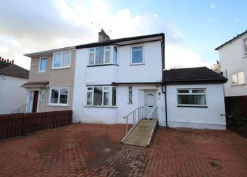 Thumbnail 4 bed semi-detached house for sale in Rockmount Avenue, Thornliebank, Glasgow