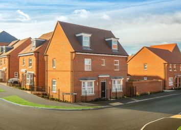 """Thumbnail 4 bedroom detached house for sale in """"Hertford"""" at Fetlock Drive, Newbury"""