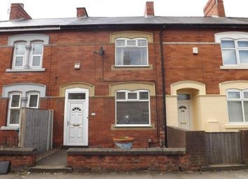 Thumbnail 3 bed terraced house to rent in Welbeck Street, Mansfield