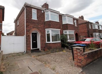 Thumbnail 3 bed semi-detached house for sale in Hardwick Avenue, Acklam, Middlesbrough