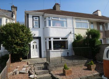 Thumbnail 3 bedroom semi-detached house for sale in Billacombe Road, Plymstock, Plymouth, 7Hg.